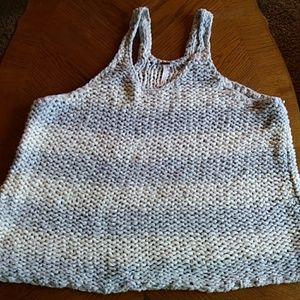 Free People Knifed Oversize Tank Top